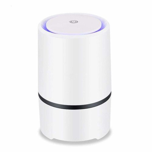 Air Purifier Air Cleaner for home with True HEPA, 2018 Upgraded Design Low  Noise Portable Air Purifier with Night Light, PM 2 5 Eliminator for