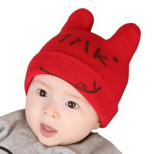 Baby Boys Girls Keep Warm Head Cap New Born Baby Winter Hats Soft Hat-A2