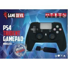 Game Devil Trident Game Pad RF 2.4Ghz Wireless Controller For PS4/PS3