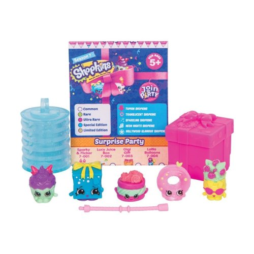 Shopkins Series 7 Collectable Characters (Pack of 5)