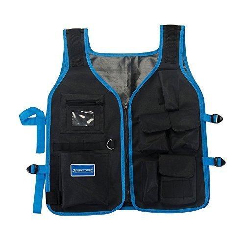 Silverline Tool Jacket Adjustable -  tool jacket adjustable silverline 656615 work