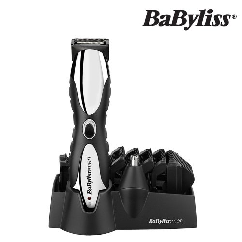 BaByliss 7275CU 10-In-1 Rechargeable Cordless Dual Blade Beard Trimmer For Men