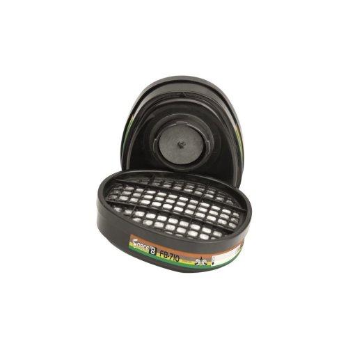Force 8/10 ABEK1 Combination Vapour Filter Cartridges - Pack of 2