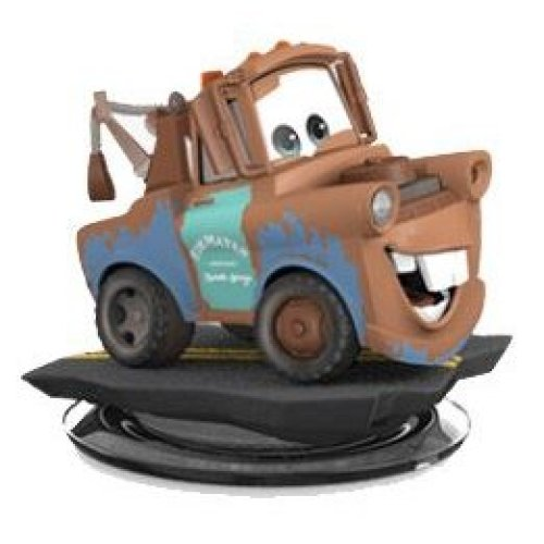 Disney Infinity Cars Mater Figure Xbox PS3 PS4 WII