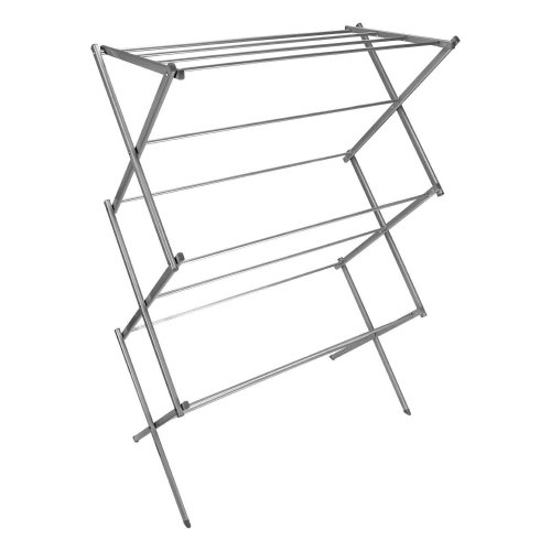 New Indoor Outdoor 3 Tier Clothes Airer Horse Winged Tower Dryer Laundry Rack