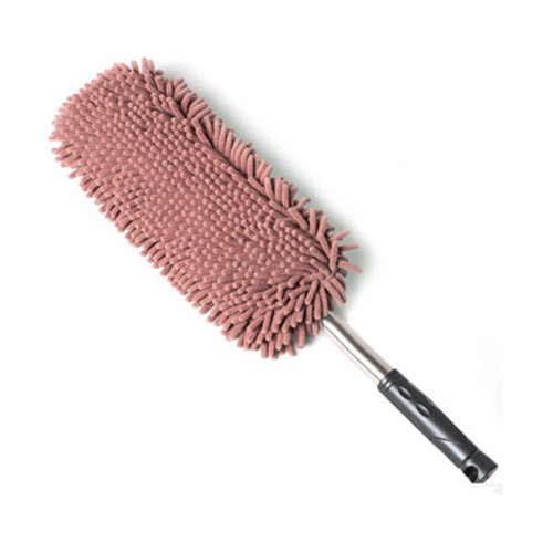 Highly Absorbent Cleaning Supplies Chenille Yarn Car Duster/Dust brush,COFFE