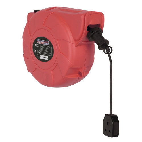 Sealey CRM151 15mtr Retracting Cable Reel 230V