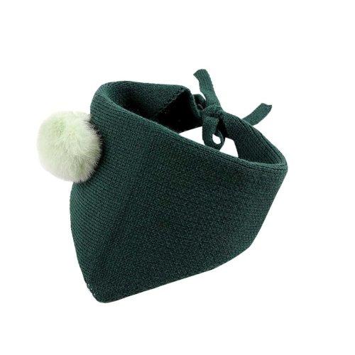 Lovely Warm Winter Scarf Kids Neck Warmer-Green