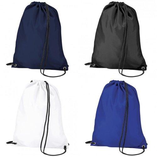BagBase Budget Water Resistant Sports Gymsac Drawstring Bag (11L)