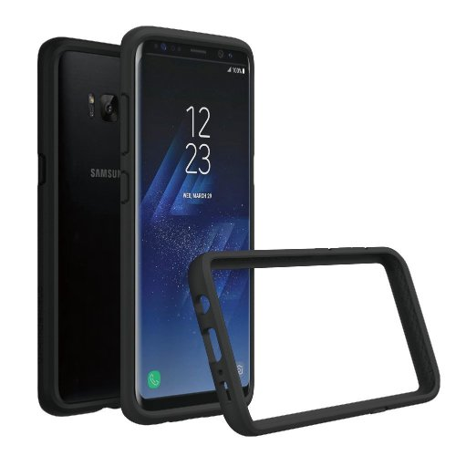 lowest price 0399f 40c8c RhinoShield Bumper Case FOR GALAXY S8 [NOT Plus] [Crashguard] | Shock  Absorbent Slim Design Protective Cover - Compatible w/Wireless Charging...
