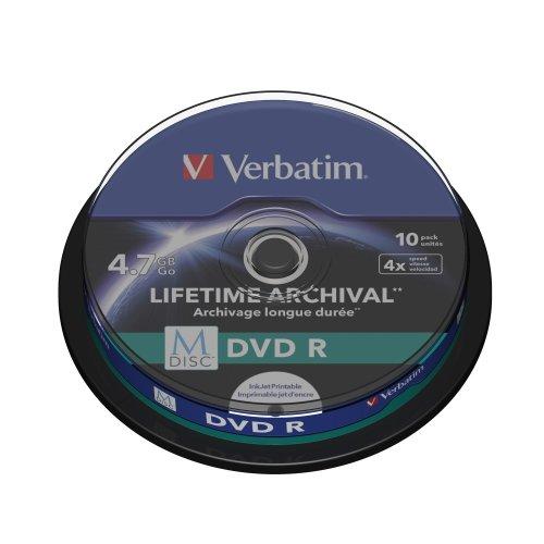 Verbatim M-Disc DVD R 4.7GB 10pc(s)