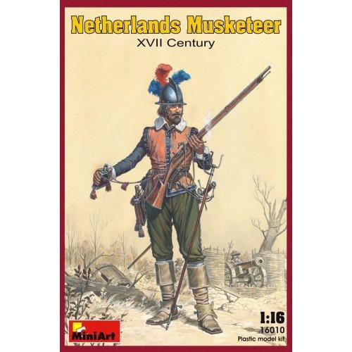 Min16010 - Miniart 1:16 - Netherlands Musketeer Xviic