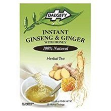 Dalgety Instant Ginseng & Ginger with Honey Tea (20 Tea Bags)
