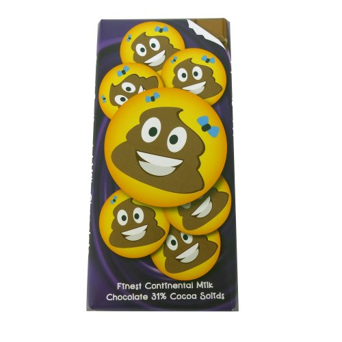 Emotives Pile Of Poo Chocolate Bar