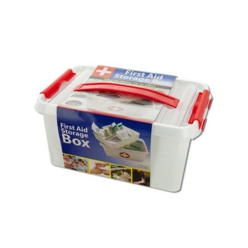 Kole Imports OT565-4 First Aid Storage Box - Pack of 4