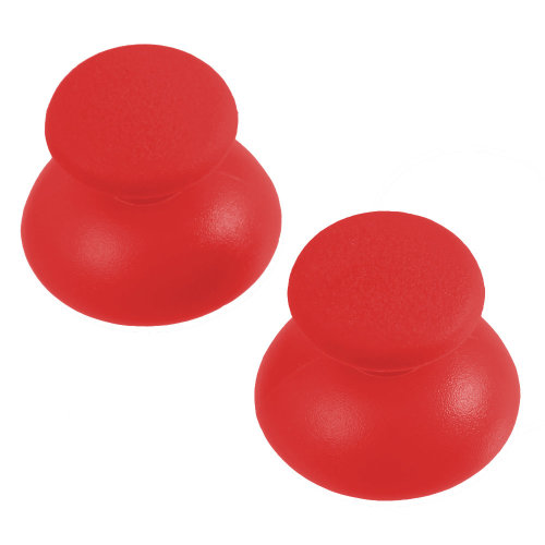 Thumbsticks for PS3 Sony Controller rubber convex analog ZedLabz – 2 pack red