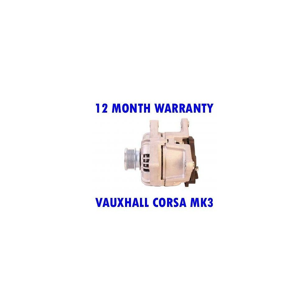 Vauxhall Corsa Mk3 Mk Iii 16 2007 2008 2009 2010 2014 Rmfd Starter Motor Wiring Diagram Alternator