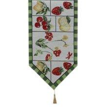 Creative Home Dining Table Runner Table Decor 13x70.8 Inch, Strawberry & Lemon