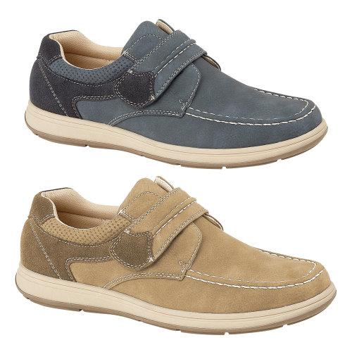 Mens HighGrove Velcro Smart Casual Comfort Shoes