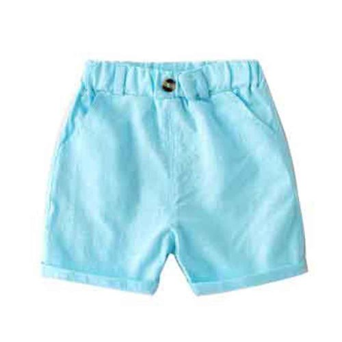 Baby Boy Short Pants Cute Short Pants for Summer Suitable for 100cm [A]