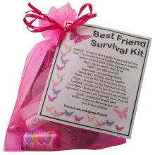 BEST FRIEND Survival Kit Gift  - Great present for Birthday or Christmas