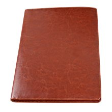 A4 Multi-function Folder Note Book Series Sales Clip Personal-Organizers Brown A