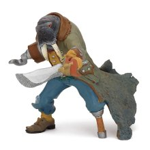 "Papo ""walrus Mutant"" Figure (multi-colour) - Walrus Mutant Pirate Corsairs New -  papo walrus mutant pirate corsairs new fantasy pirates 39462"
