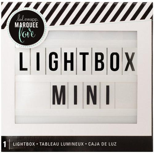 "Heidi Swapp Lightbox Mini 6.5""X6.5""X2""-White"
