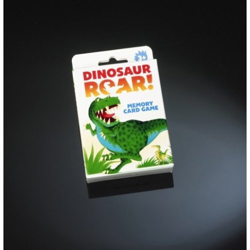 Dinosaur Roar Memory Card Game -  card game paul dinosaur roar lamond memory