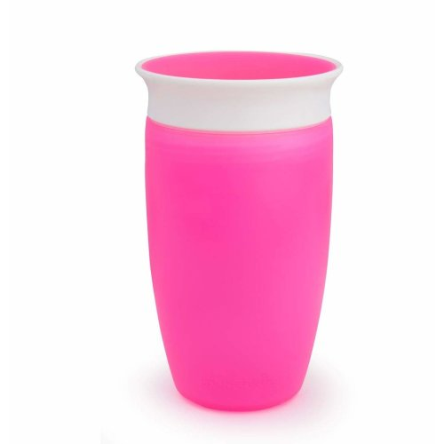 Munchkin Miracle 360 Degree Sippy Cup, 10 oz/296 ml, Pink