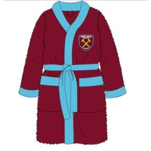West Ham Mens Bath Robe - M - Fc Dressing Gown L XL -  mens west ham fc dressing gown bath robe l xl