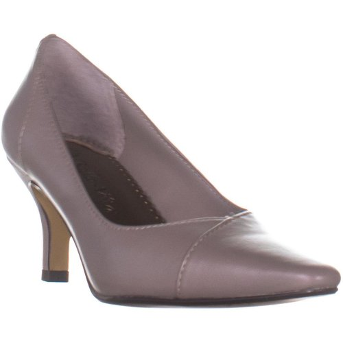 Bella Vita Wow Pointed Toe Classic Pumps, Taupe, 3.5 UK
