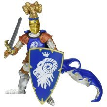Blue Weapon Master Ram - Papo Figure Multicolour Toys Brand New Free Delivery -  papo weapon master ram figure multicolour toys brand new free