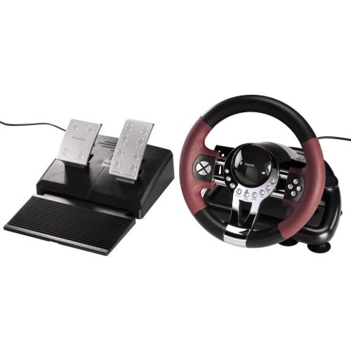 Hama Thunder V5 Gaming Racing Wheel (PS3)