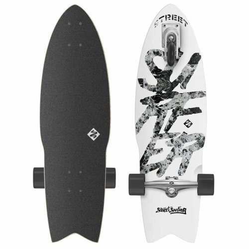 Street Surfing Pumping Board Shark Attack 76 cm GREAT WHITE