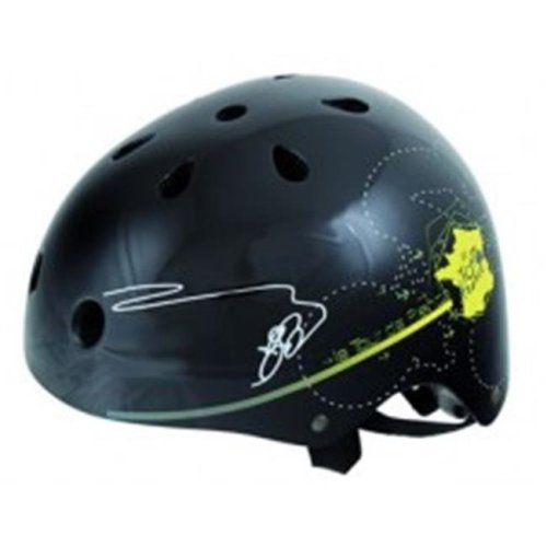 Black Tour Freestyle Helmet - Medium, 54-58 cm.
