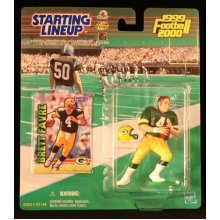 BRETT FAVRE / GREEN BAY PACKERS 1999-2000 NFL Starting Lineup Action Figure & Exclusive NFL Collector Trading Card