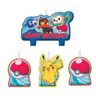 Pokemon 30362650 Birthday Candle Set