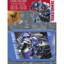 Gb Eye Transformers 4 Optimus Prime Card Holder, Multi-colour -  transformers 4 optimus prime card holder gb eye multicolour novelty 10 x 17cm