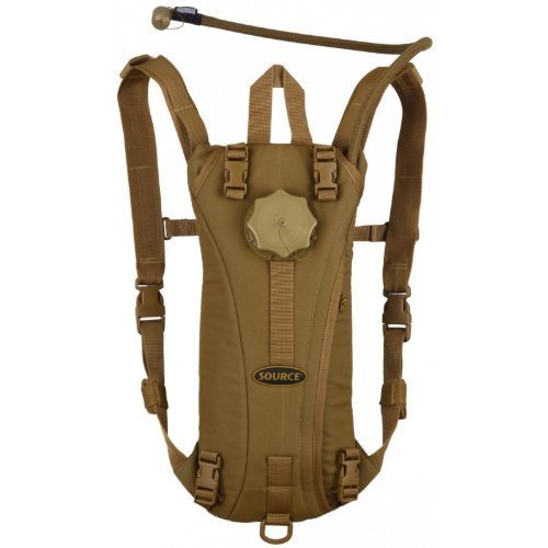 Source Tactical Advance Mobility 3-Liter Hydration System Pack, 3 Usage Modes (Coyote)