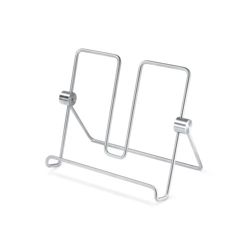 Zack Alessa Cookbook Stand - Brushed Stainless Steel