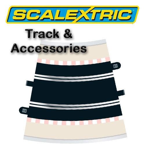 Scalextric Track - Radius 4 Curve 22.5o (2)