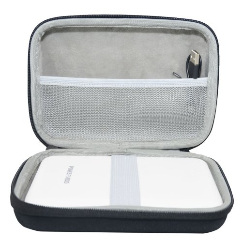 for Poweradd Pilot Pro 3 30,000mAh 3-Port USB Output Portable USB Charger External Battery Pack Power Bank EVA Case Travel Carrying Bag by SANVSEN