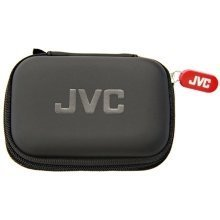 JVC Compact Carry Case for Earphones - Black (Model No. HPCASE)