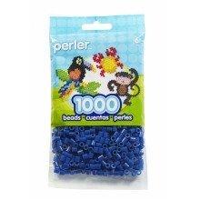 Prl19008 - Perler Beads - 1000 Pc Pack - Dark Blue