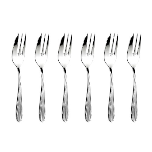 Sophie Conran for Arthur Price Set of 6 Pastry Forks, Stainless Steel