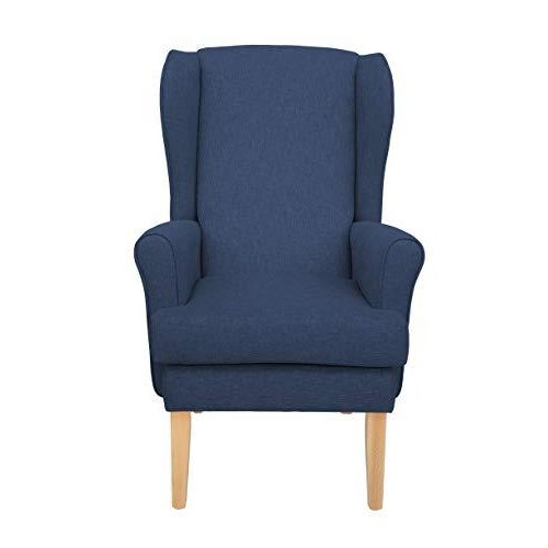 MAWCARE Highland Orthopaedic High Seat Chair - 19 x 21 Inches [Height x Width] in High Navy (lc21-Highland_h)