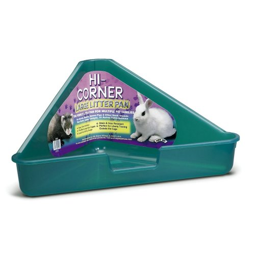 Interpet Limited Superpet Large Corner Litter Pan (Assorted Colours) - ASRTD