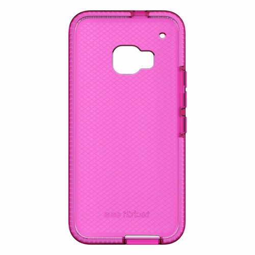 Tech21 Pink Case Cover for HTC One M9 Evo Check TPU Gel Skin