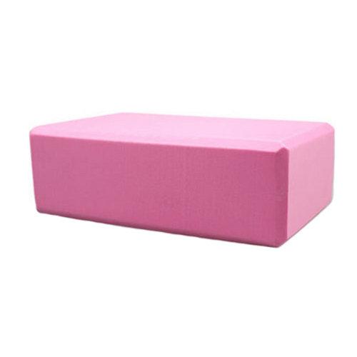 High Density Yoga Block Non-slip Blocks Bricks Yoga Mat Accessory Sports - Pink